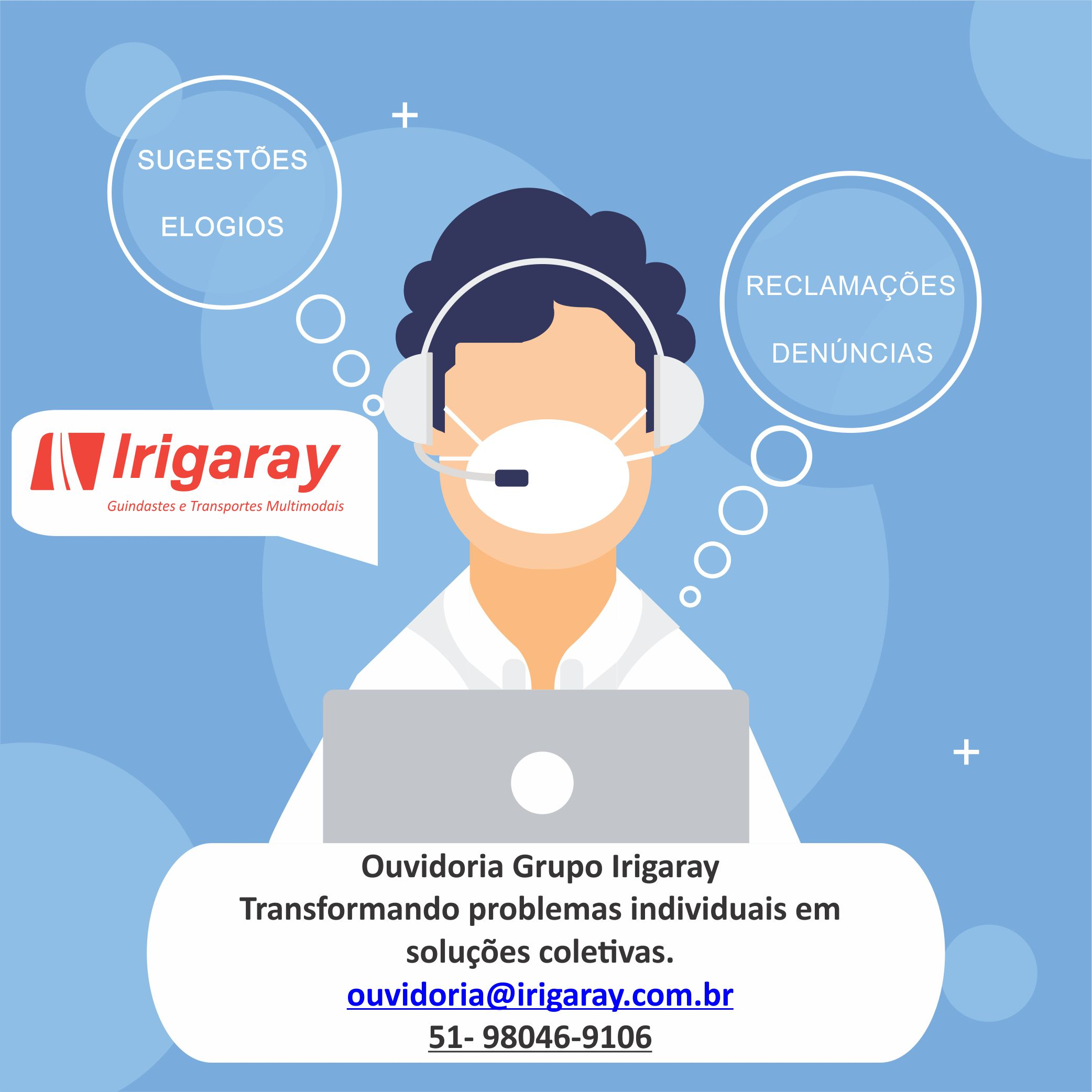 Ouvidoria - Grupo Irigaray